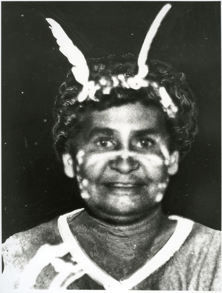 Janie Sunflower at Cherbourg Aboriginal Settlement c1920