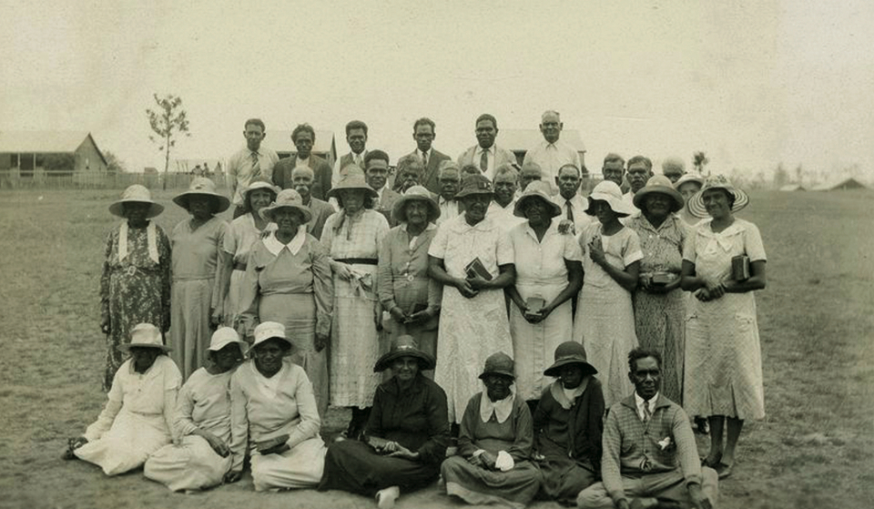 AIM Senior Society of Christian Endeavour at Cherbourg 1937