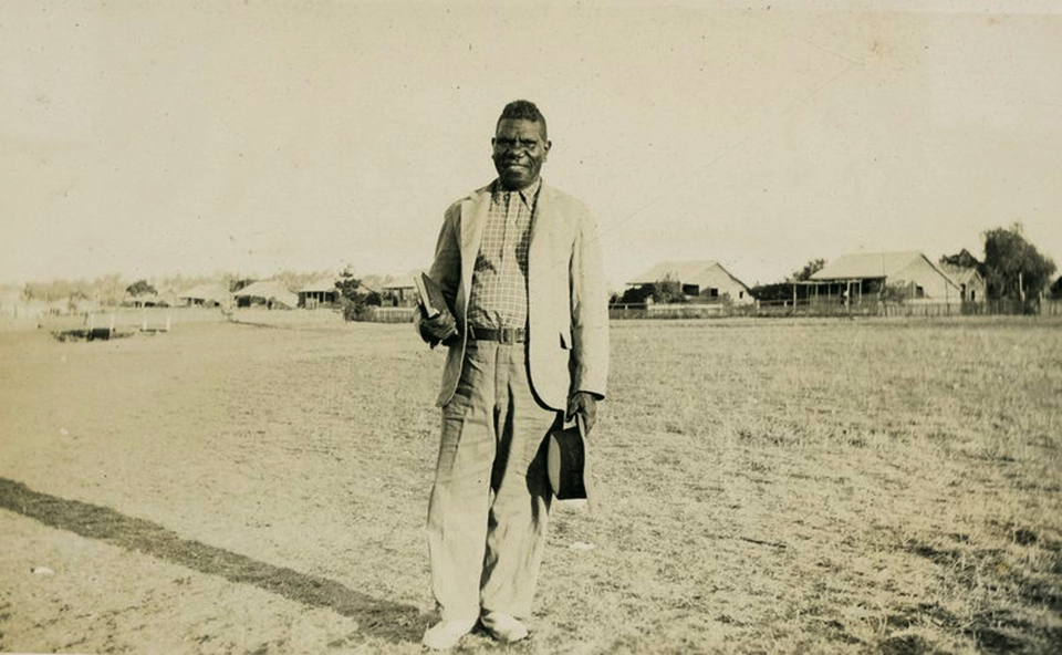 Willie Mckenzie, AIM evangelist at Cherbourg c1930