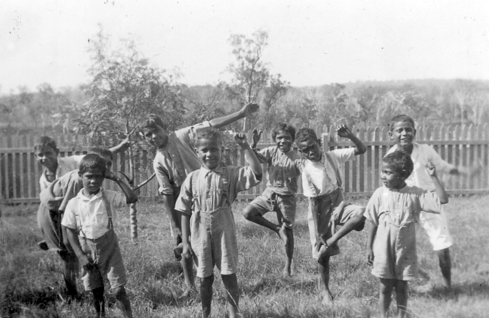 Boys at Cherbourg Aboriginal Settlement c1940