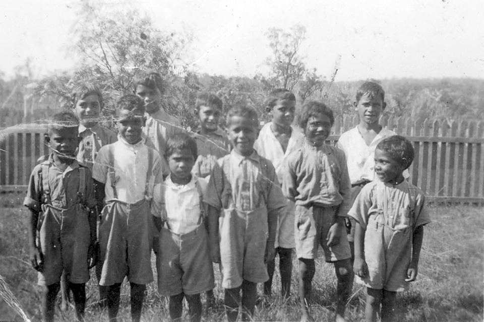 Boys at Cherbourg Aboriginal Settlement c1940