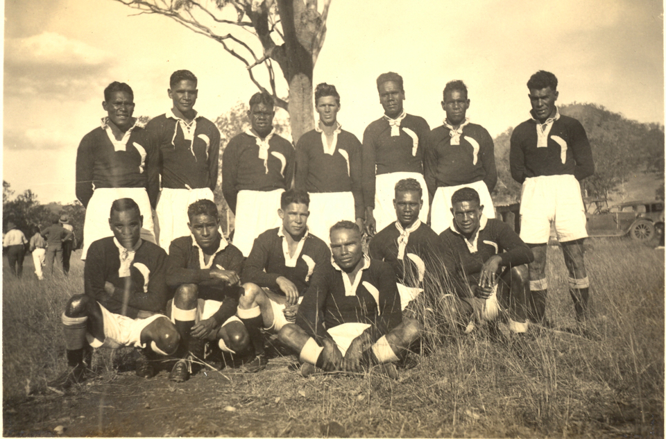Cherbourg Magpies Rugby League Team c1935