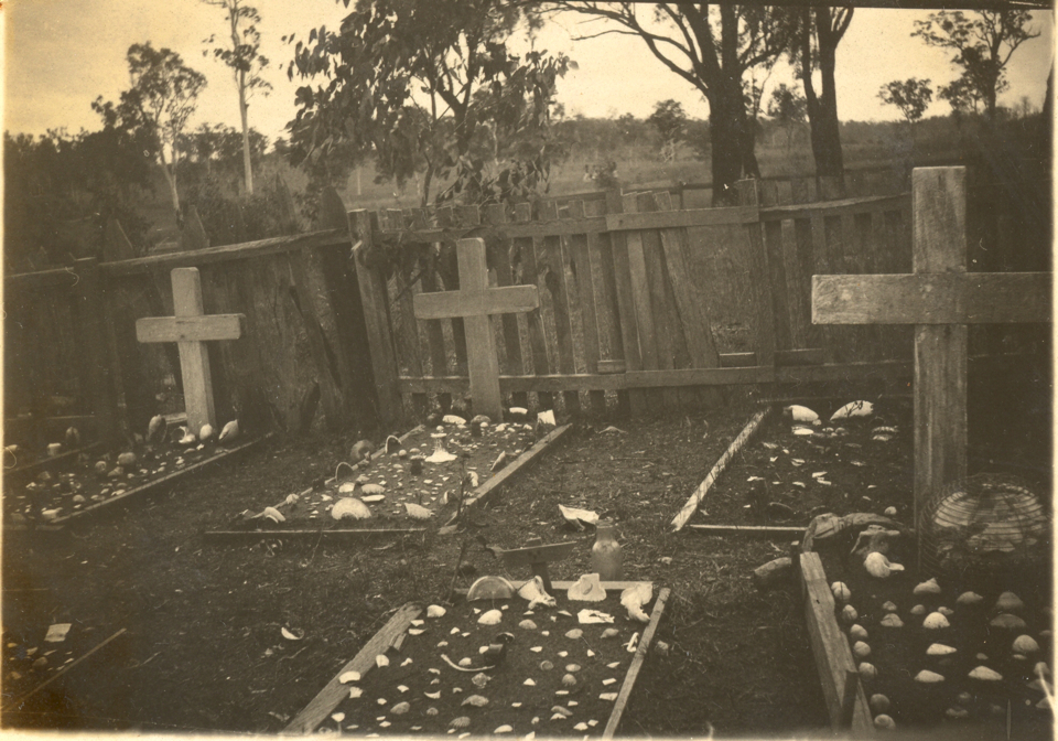 Cemetery at Cherbourg c1935