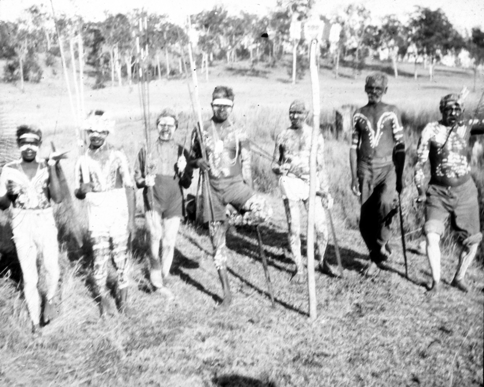 Corroberee at Cherbourg Aboriginal Settlement 1934