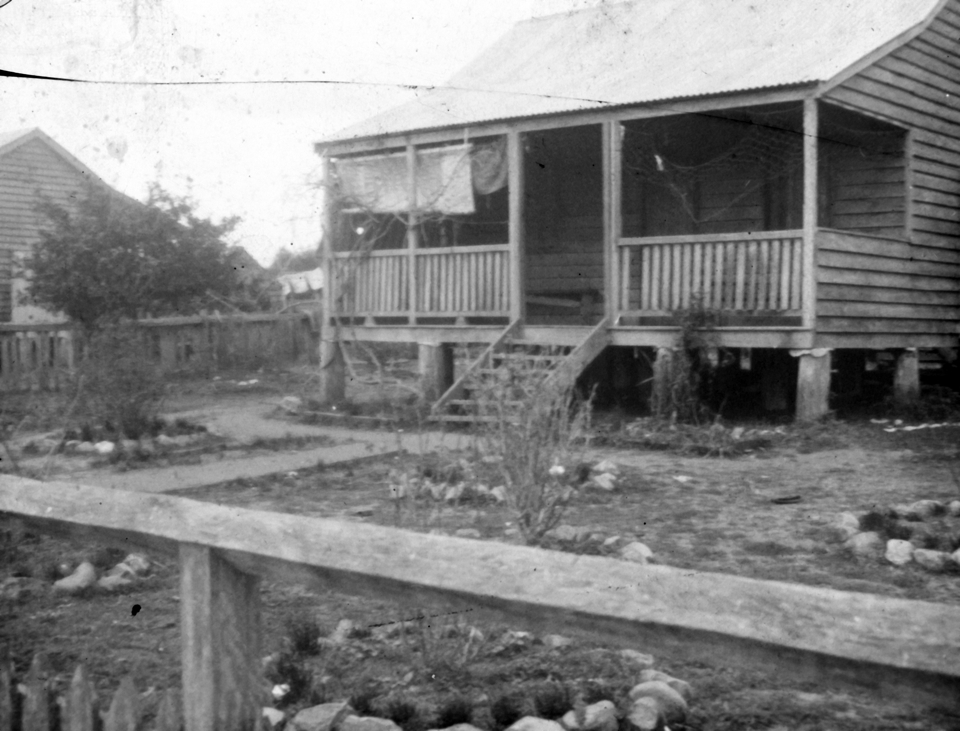 Cottage at Cherbourg Aboriginal Settlement 1934