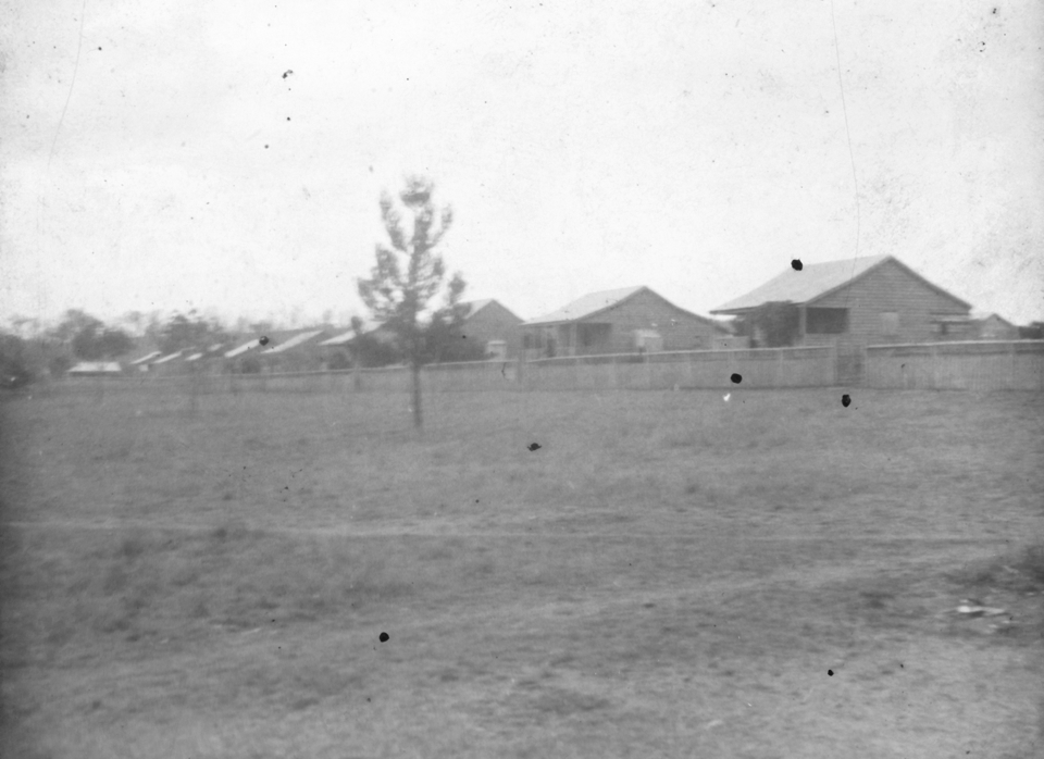 Cottages at Cherbourg Aboriginal Settlement 1934