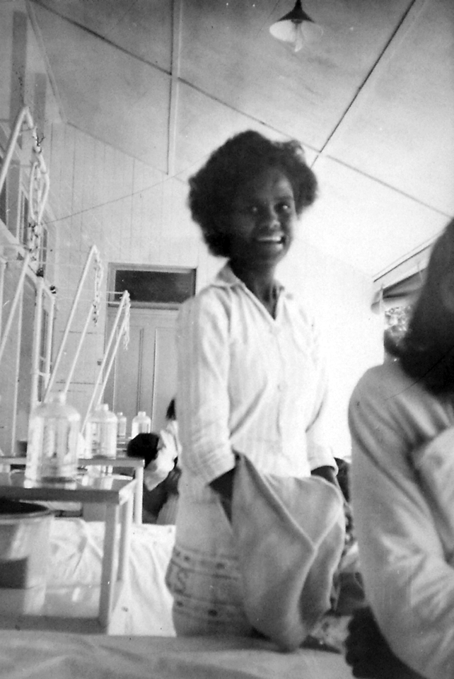 Daisy Watcho at Cherbourg Hospital c1961