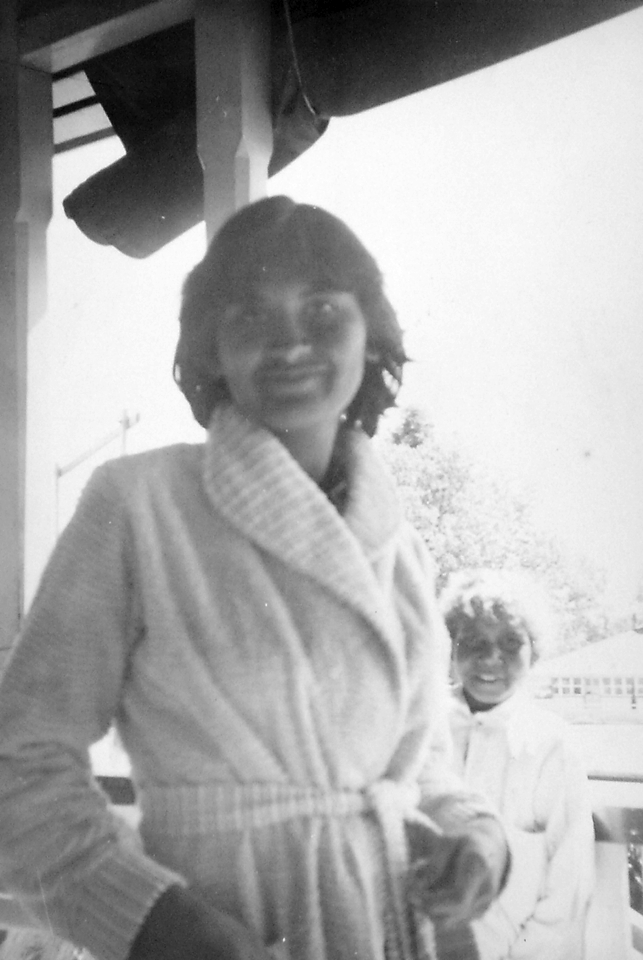 Elaine Fisher and Beverley Hill at Cherbourg Hospital c1961