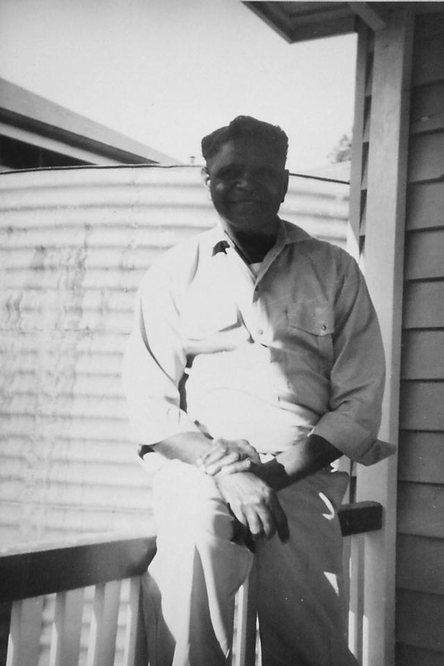 John McIvor at Cherbourg Hospital c1961