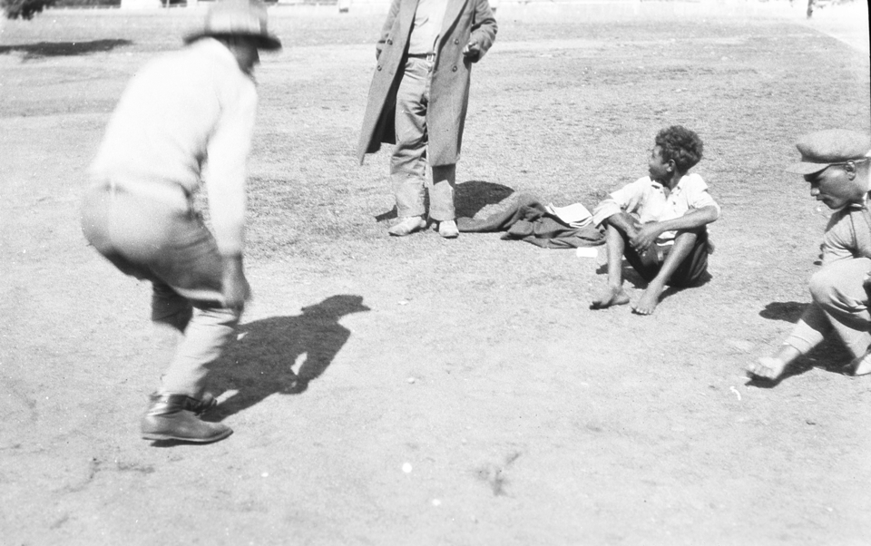 Men and boy at Cherbourg Aboriginal Settlement 1934