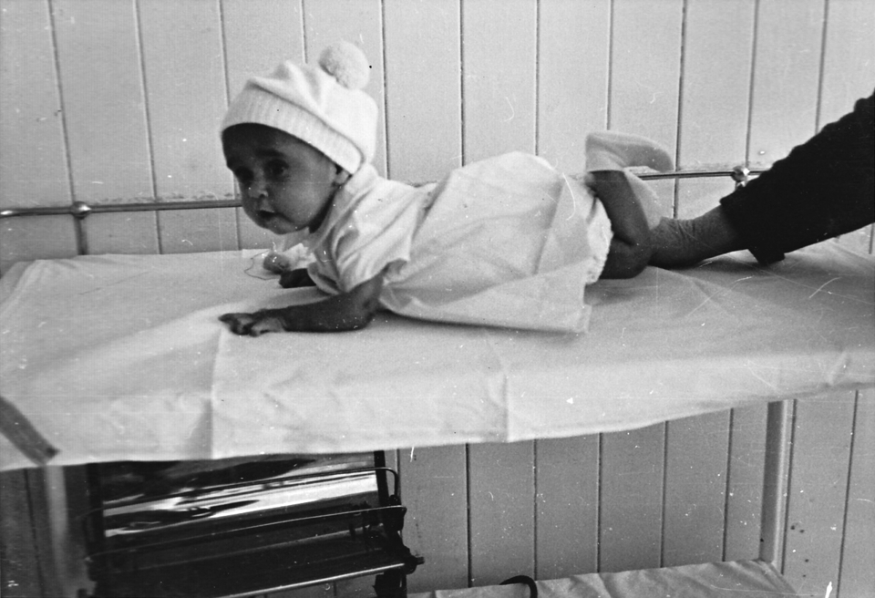 Norman Cobbo at Cherbourg Hospital c1961
