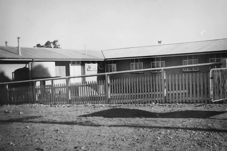 Nurses Quarters at Cherbourg Hospital c1961