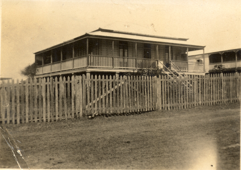The residence of Robert Crawford at Cherbourg c1935
