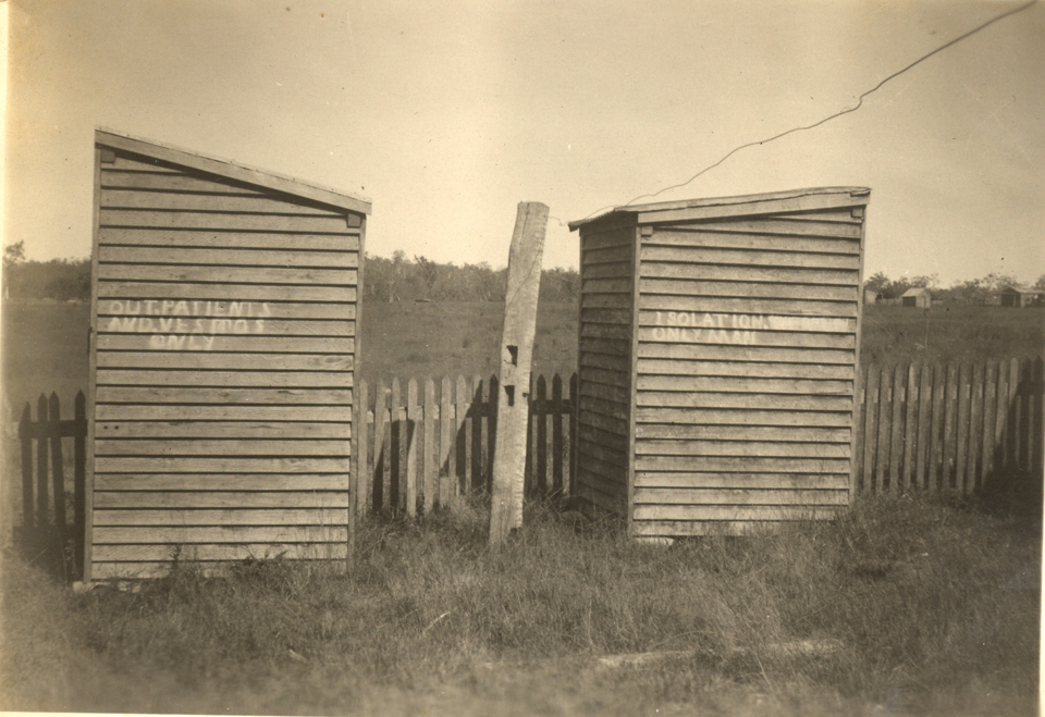 Toilets at Cherbourg c1935