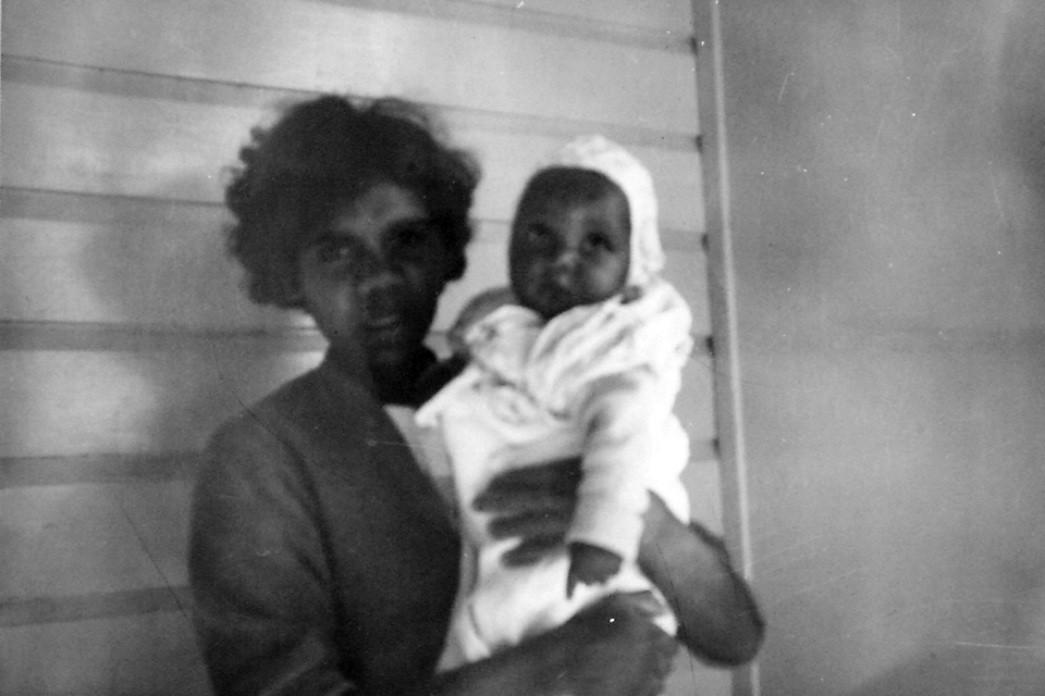 Vera and Cepha Roma at Cherbourg Hospital c1961