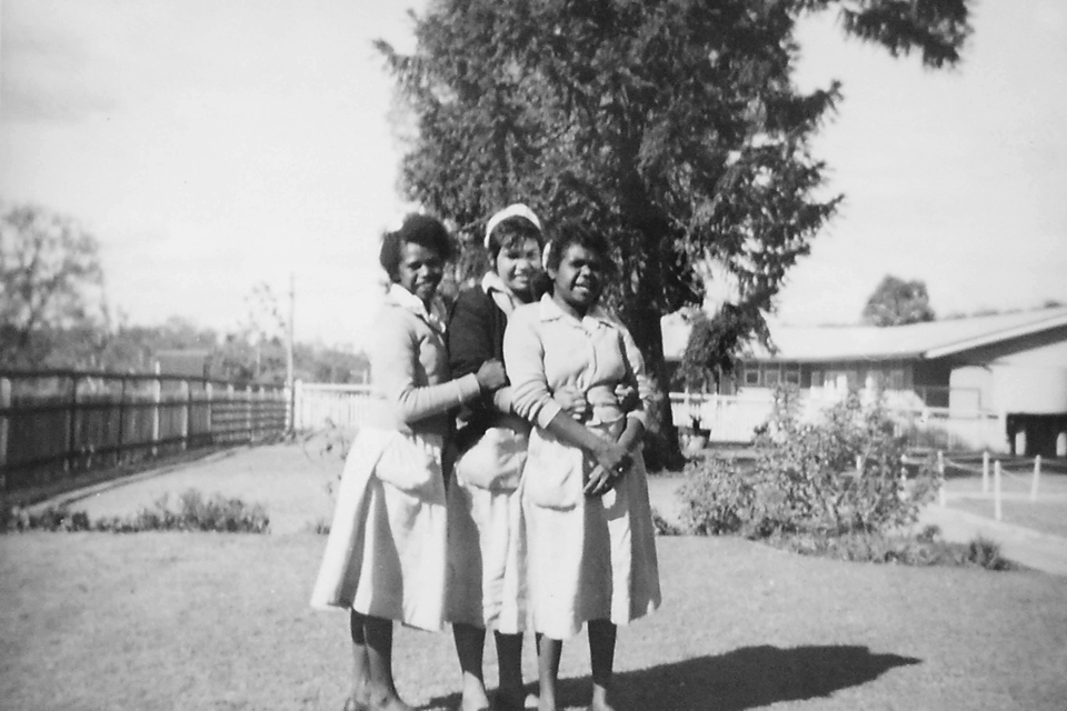 Wards staff at Cherbourg Hospital c1961