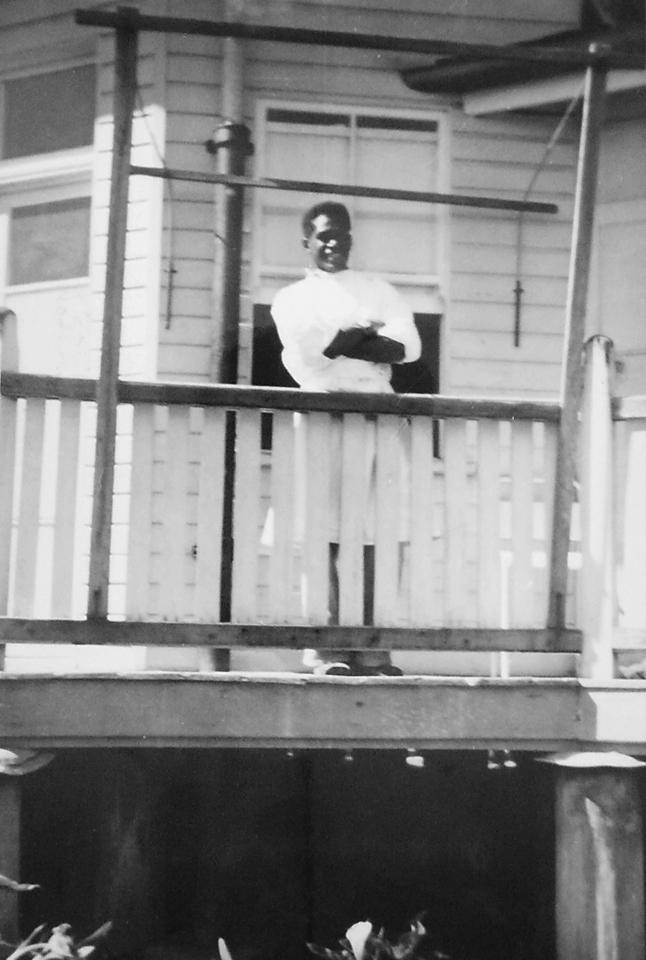 Wardsman at Cherbourg Hospital c1961