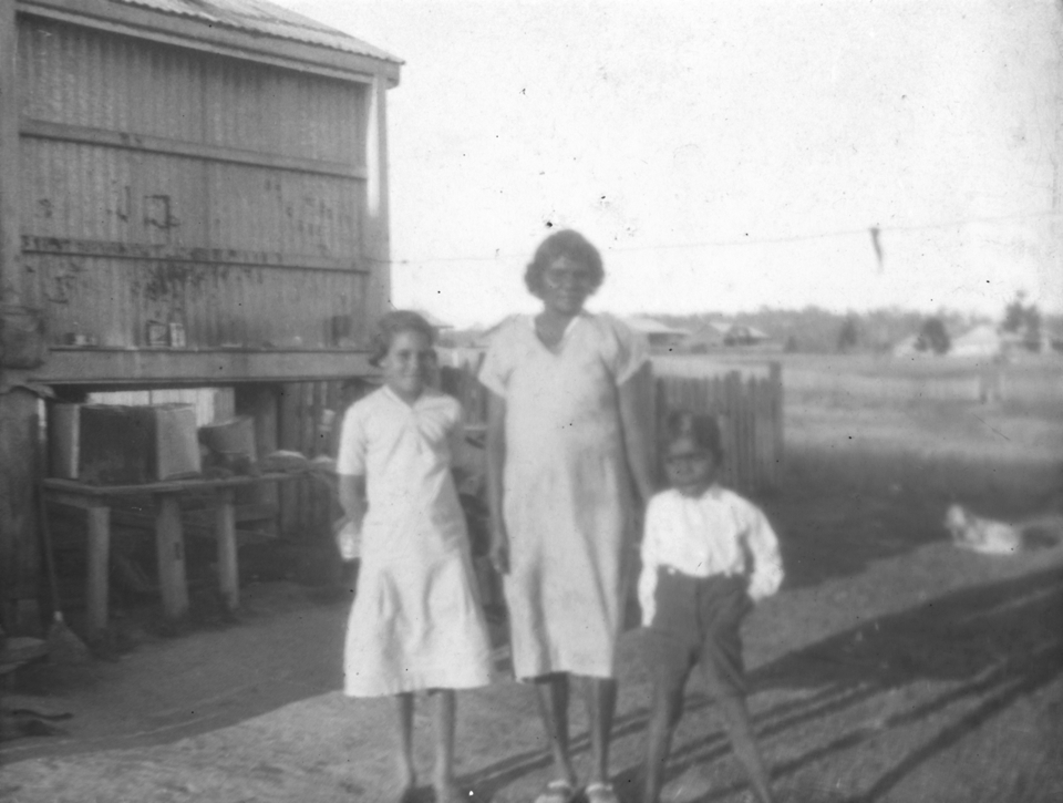 Woman and children at Cherbourg 1934