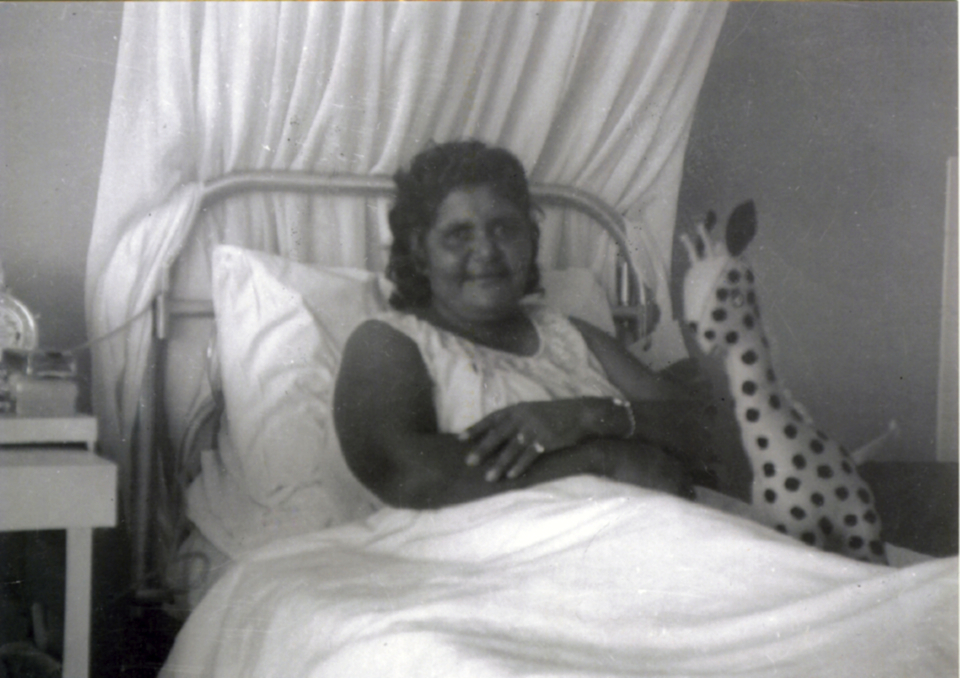 Woman at Cherbourg Hospital c1961