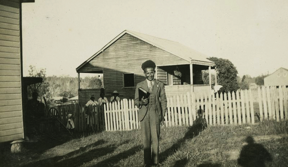 Pastor at Barambah Aboriginal Settlement c1930
