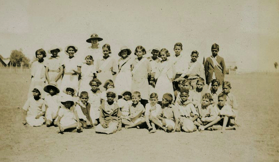 Children at Barambah Aboriginal Settlement c1933