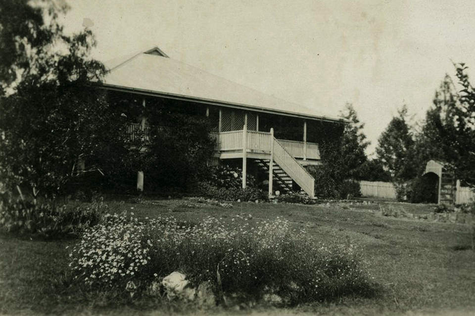 Superintendents house at Cherbourg Aboriginal Settlement c1934