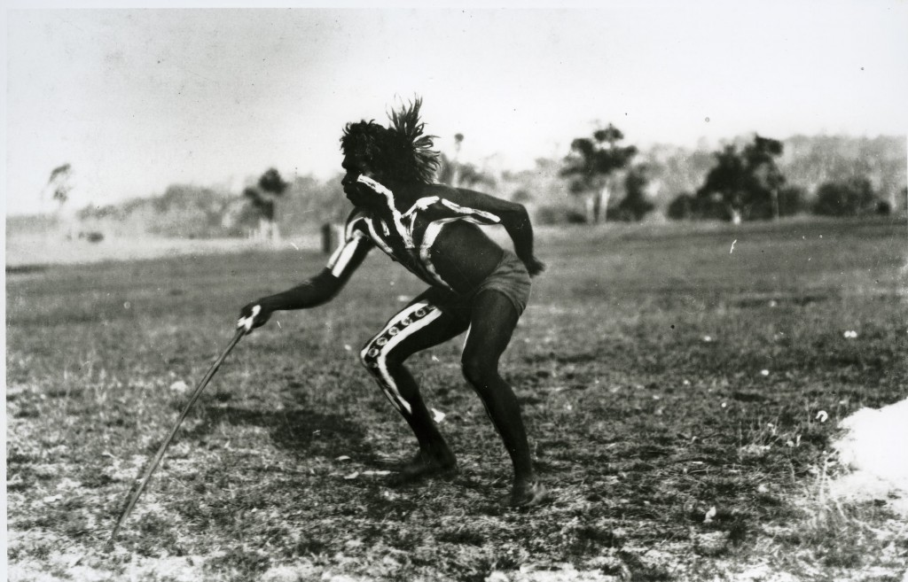 Thomas Stuckey at Cherbourg Aboriginal Settlement c1920