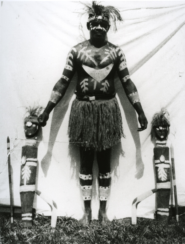 Fred Embery at Cherbourg Aboriginal Settlement c1930