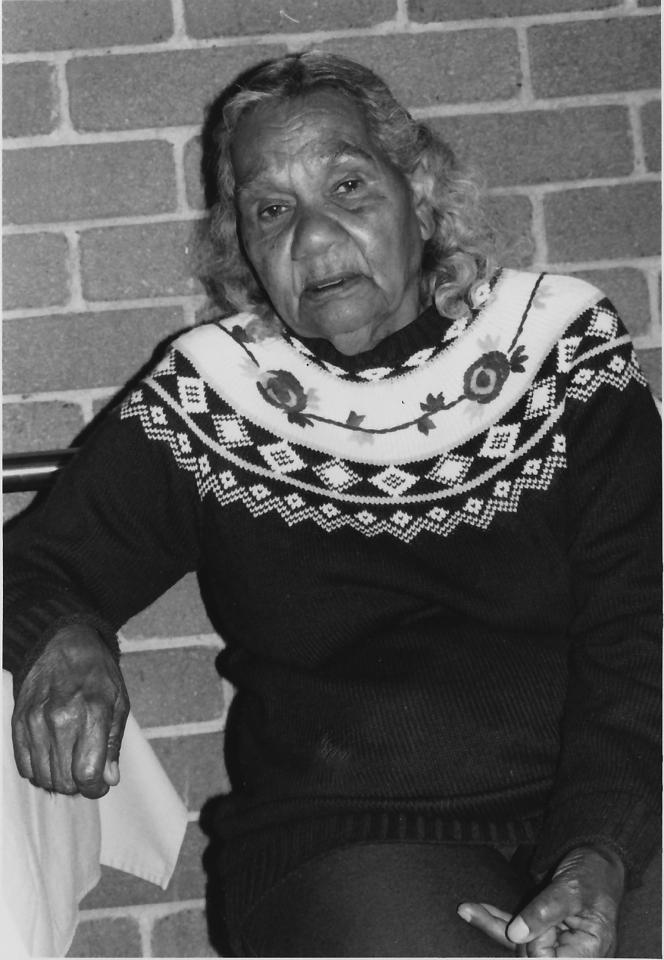 Yvonne Sandow Cherbourg Elder c1996