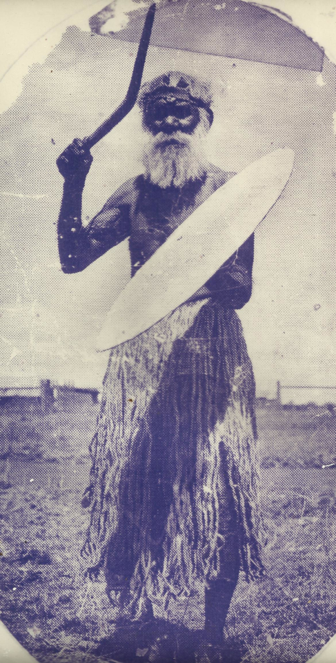 Bulgi at Cherbourg Aboriginal Settlement c1950