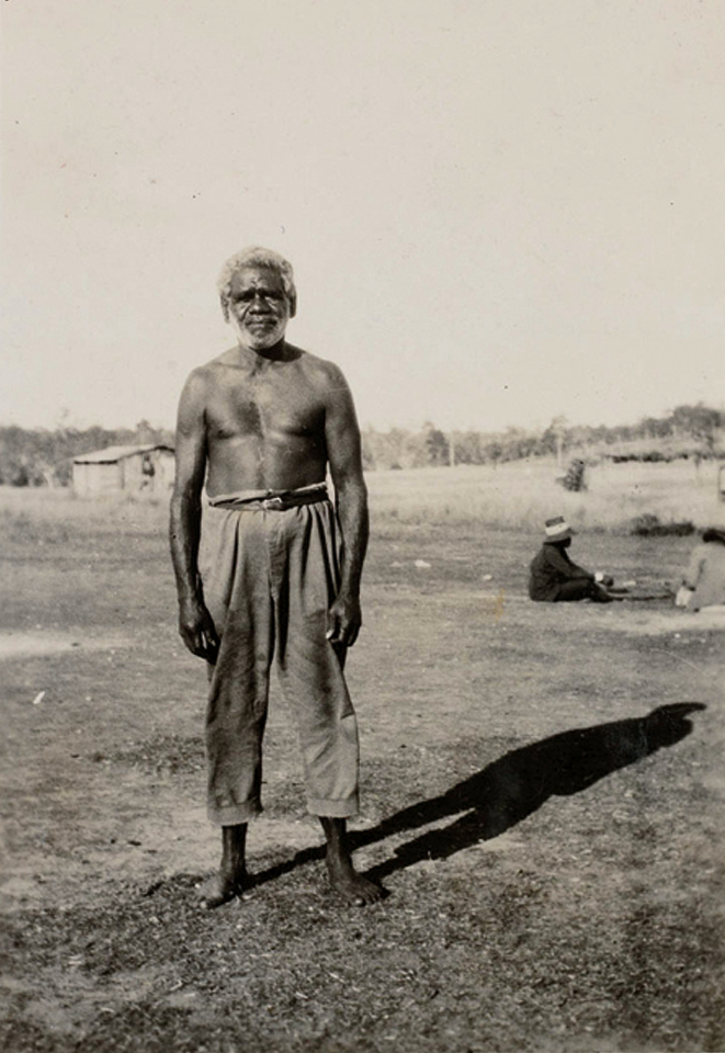 Jerry Jerome at Barambah Aboriginal Settlement c1930