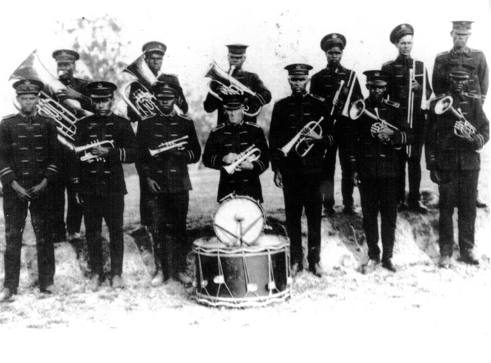 Barambah Aboriginal Settlement Brass Band c1920