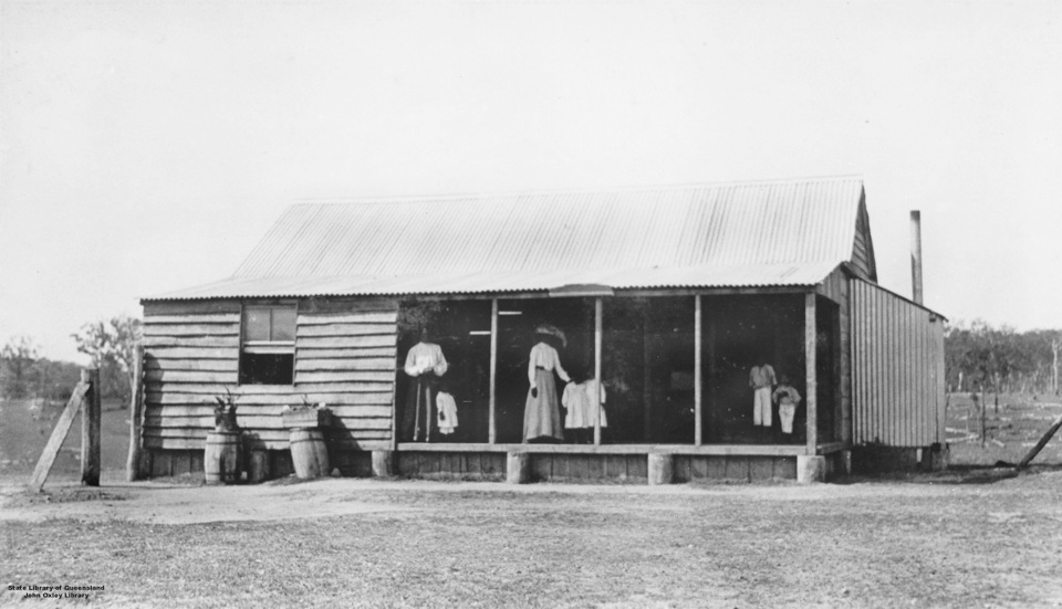 Boys Dormitory at Barambah Aboriginal Settlement 1911