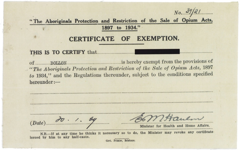 Cherbourg memory certificate of exemption january 20 1924 view larger image thecheapjerseys Images