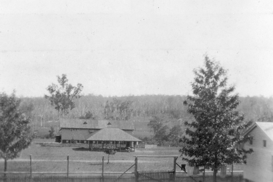 Cherbourg Settlement School and shelter c1930