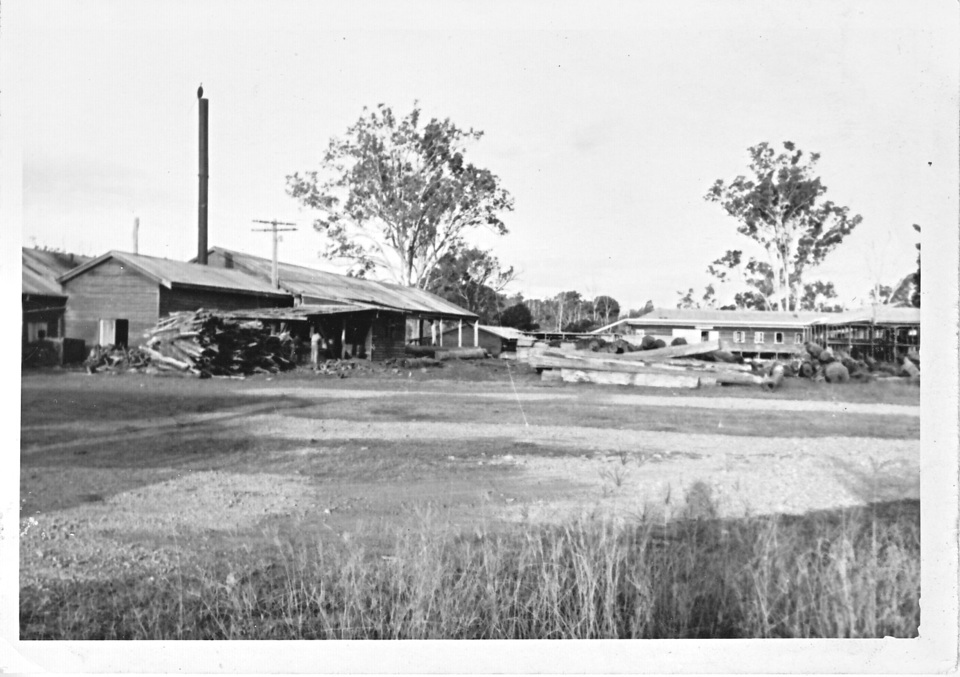 Cherbourg sawmill and Trade Training Centre 1962