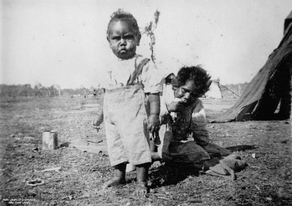 Children at Barambah Aboriginal Settlement 1905