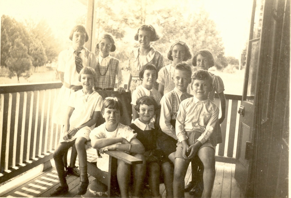 Children of the white officials at Cherbourg Provisional School c1930