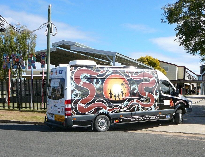 The Deadly Van at Cherbourg State School 2012