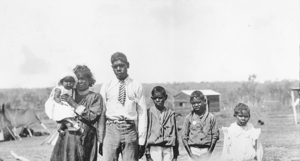 Family at Barambah Aboriginal Settlement 1911