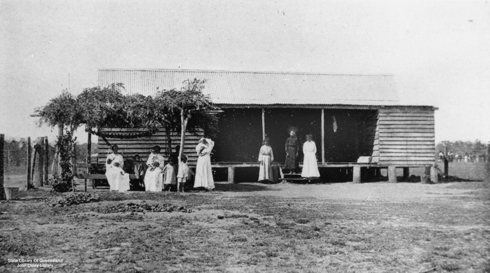Girls Dormitory at Barambah Aboriginal Settlement 1911