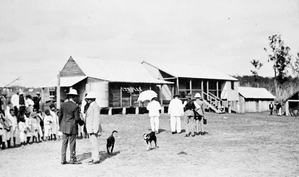 Governor Sir William McGreggor inspects Barambah Aboriginal Settlement 1911