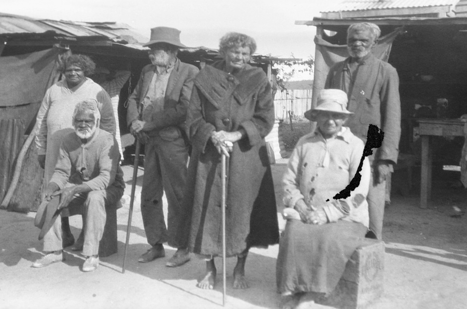Elders at Cherbourg Aboriginal Settlement 1934