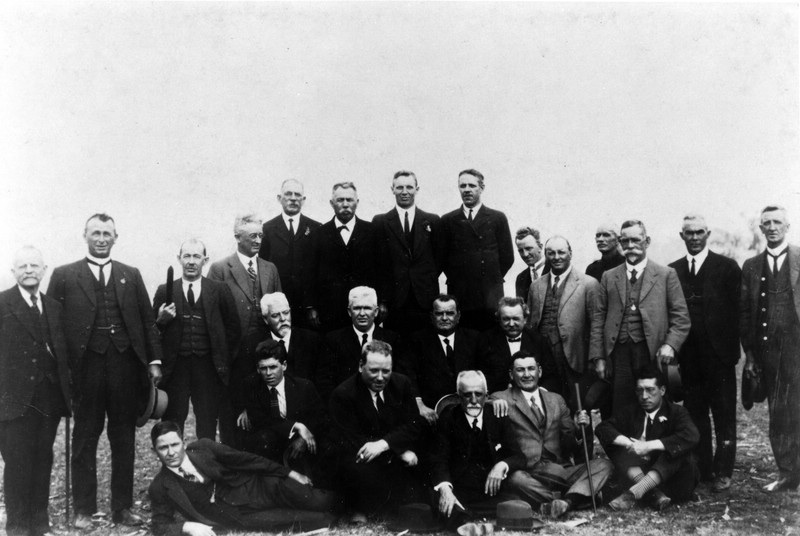 Parliamentary party at Cherbourg Aboriginal Settlement October 2 1925