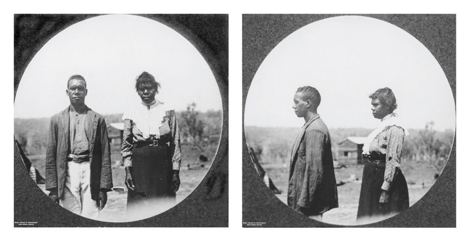 Harry Couts and Fanny at Barambah Aboriginal Settlement 1911