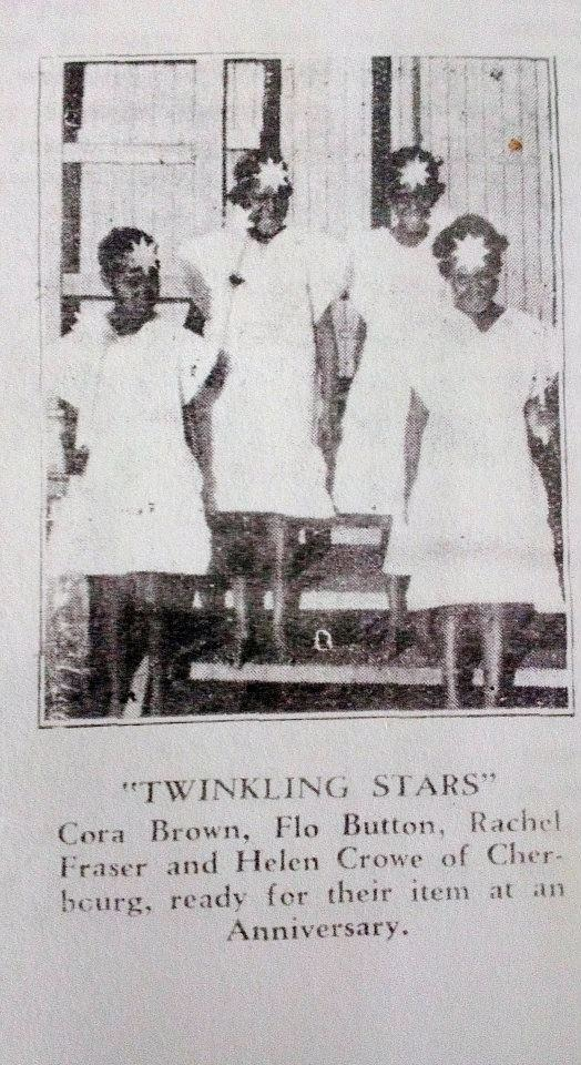 Twinkling Stars at the Welfare Hall in Cherbourg c1930