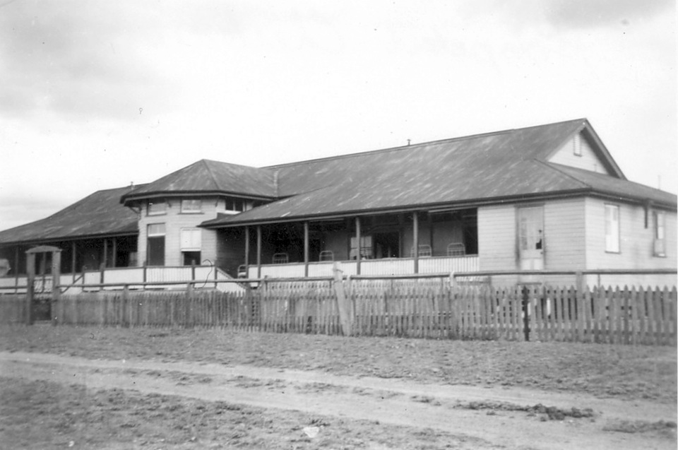 Hospital at Cherbourg Aboriginal Settlement 1934