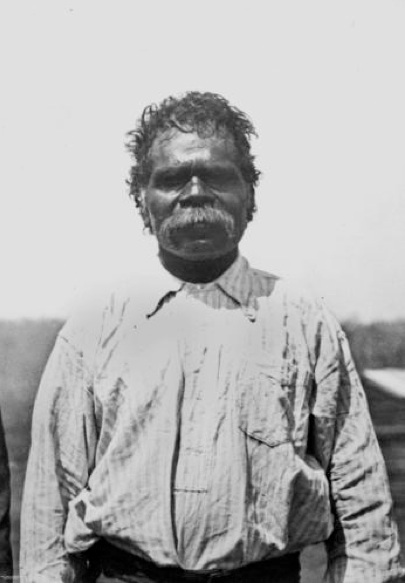 Jimmy Flourbag from Croydon at Barambah Aboriginal Settlement 1911