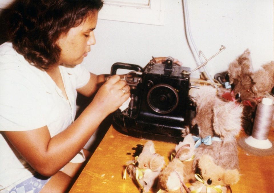 Making-koalas-in-the-Home-Training-Centre_1970s