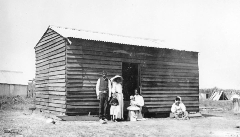 Married mens hut at Barambah Aboriginal Settlement 1911